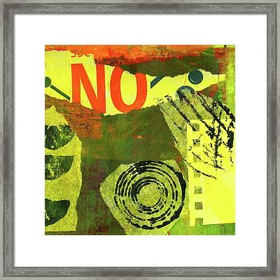 Collage No 8 Framed Print