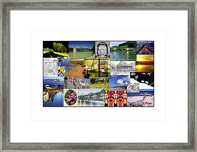 Collage Photography 1999-2009 By Sascha Meyer Framed Print by Sascha Meyer