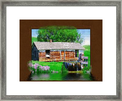 Framed Print featuring the photograph Collage by Susan Kinney