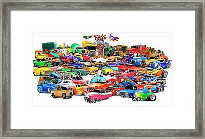 Collage2013 Framed Print by Lyle Brown