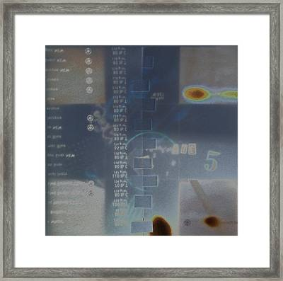 Collage2a Framed Print