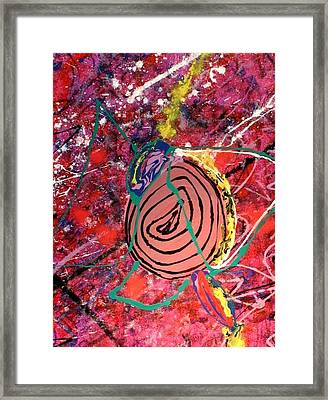 Collapse Of Fullness Framed Print by Sarah Aponte