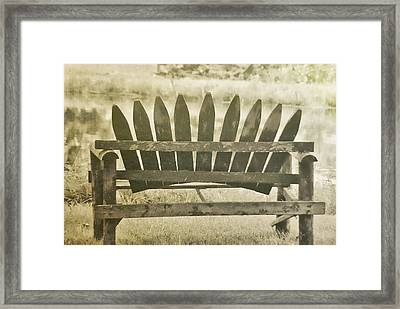 Collect Your Thoughts Framed Print by JAMART Photography