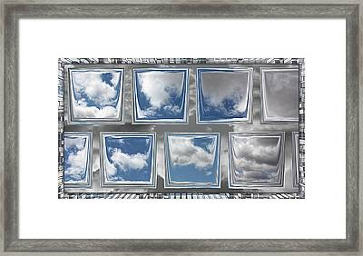 Framed Print featuring the digital art Collected Spring Mornings by Wendy J St Christopher