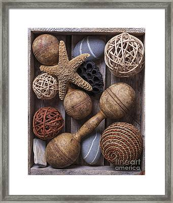 Collected Treasures Framed Print by Edward Fielding