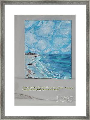Collection. Art For Health And Life. Painting 4 Framed Print by Oksana Semenchenko