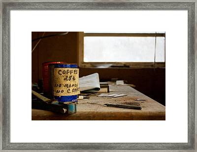 Collections Framed Print by Kevin Brett