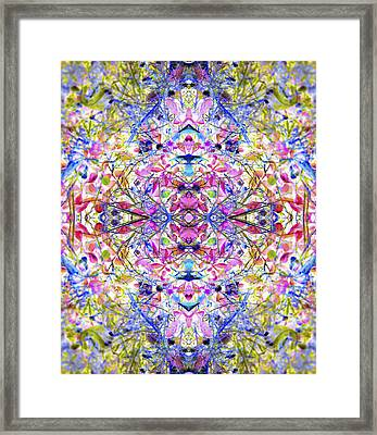 Collective Dream Ascends Framed Print