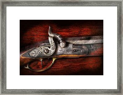 Collector - Gun - Rifle Works  Framed Print by Mike Savad