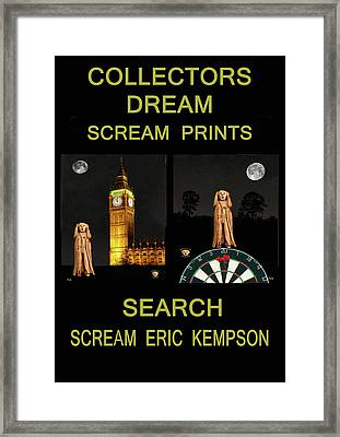Collectors Dream Framed Print
