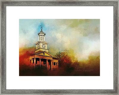 College Colors Framed Print