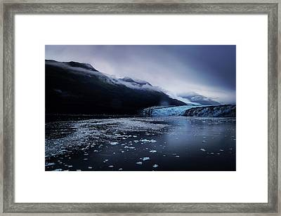 Framed Print featuring the photograph College Fjord by Lucian Capellaro