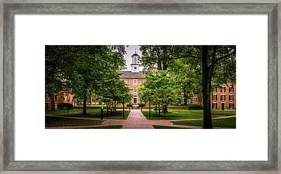 Ohio University College Green Framed Print by Robert Powell