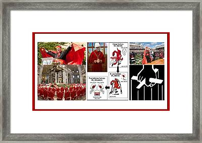 College Of Cardinals Framed Print