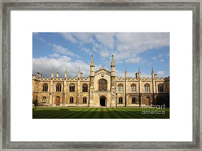 College Of Corpus Christi And The Blessed Virgin Mary Framed Print
