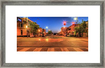 College Street Framed Print by JC Findley