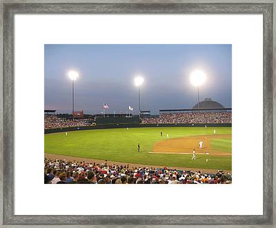 College World Series 2010 Framed Print