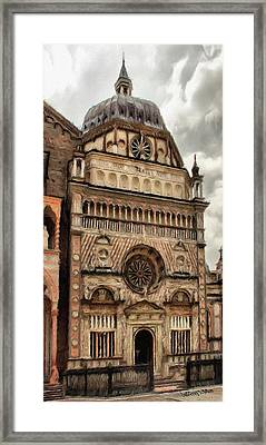 Colleoni Chapel Framed Print