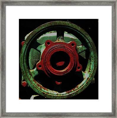 Framed Print featuring the photograph Collide by Cyryn Fyrcyd