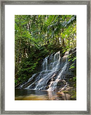 Colliery Falls Framed Print by Randy Hall