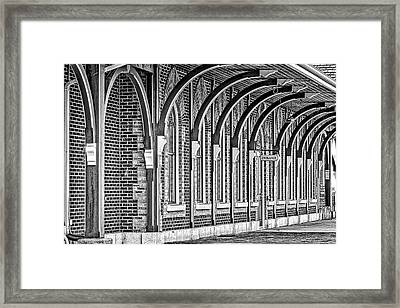 Collingwood Station Framed Print