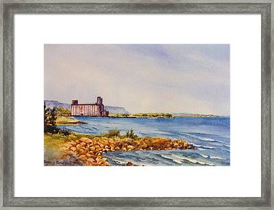 Collingwood-terminal Framed Print by Nancy Newman