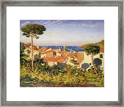 Collioure Framed Print by James Dickson Innes