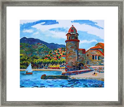 Collioure Framed Print
