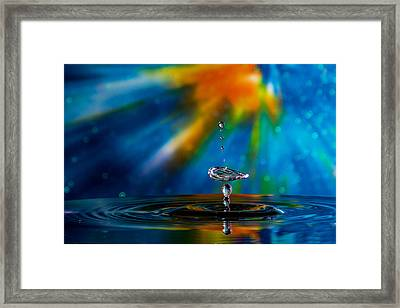 Collision 55 Framed Print by Jay Stockhaus