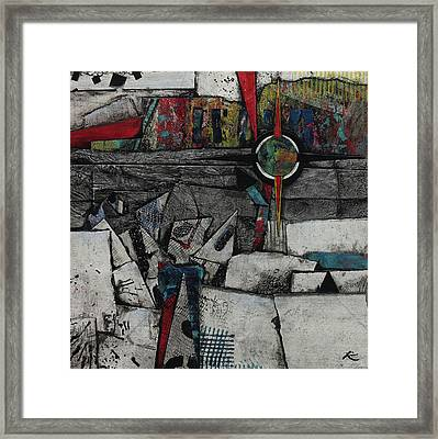 Collision Course  Framed Print by Laura Lein-Svencner