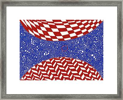 Collision No. 1 Framed Print by Timothy Forry