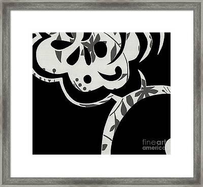 Collision Framed Print