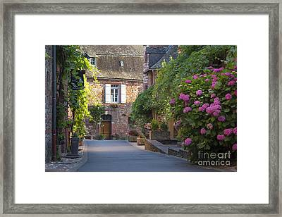 Collonges-la-rouge Street II Framed Print by Brian Jannsen