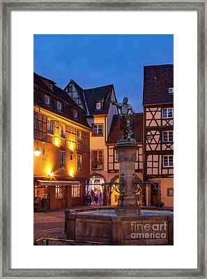 Colmar Evening Framed Print