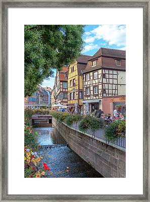 Colmar France Framed Print