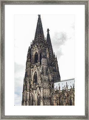 Cologne Cathedral - Germany Framed Print by Jon Berghoff