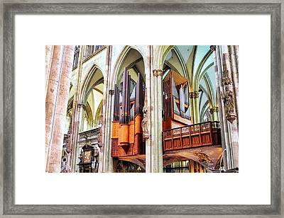Cologne Cathedral Pipe Organ Framed Print
