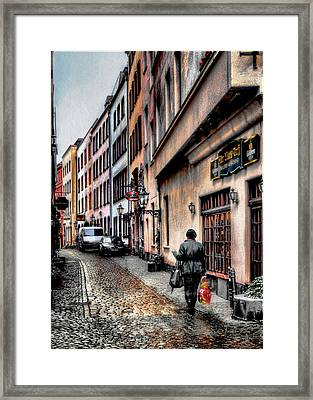 Cologne Alstadt Framed Print by Jim Hill