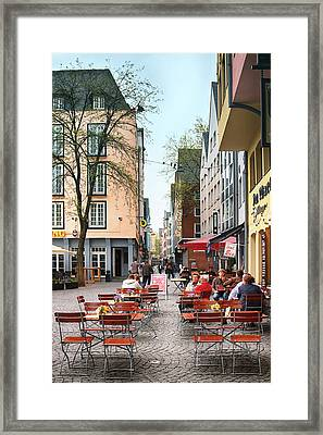 Cologne Koln, Germany Framed Print