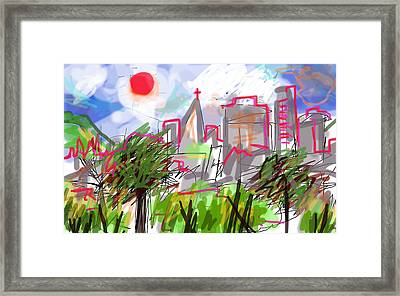 Colombia  Framed Print by Paul Sutcliffe