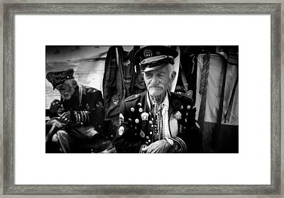 Colombian Celebrity Portrait Framed Print