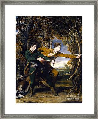 Colonel Acland And Lord Sidney Archers Framed Print by Celestial Images