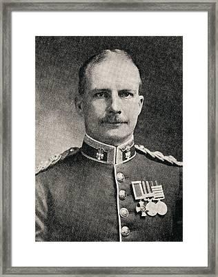 Colonel Ewen George Sinclair-maclagan Framed Print by Vintage Design Pics