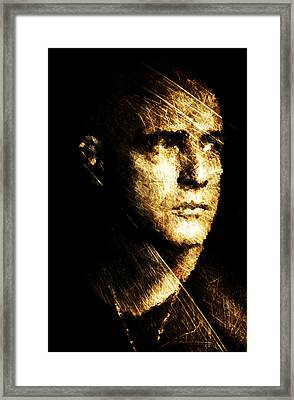 Colonel Kurtz Framed Print by Andrea Barbieri