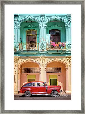 Colonial Architecture Framed Print