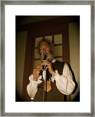 Colonial Entertainer Framed Print by Aimee Galicia Torres