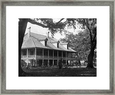 Colonial Home Framed Print