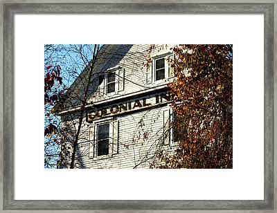 Colonial Inn Framed Print