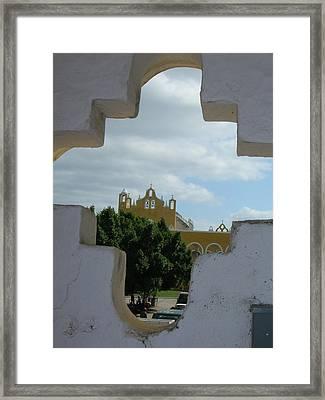Colonial Izmal Framed Print by Jonathan Kotinek