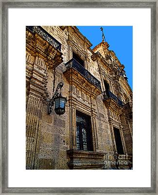 Colonial Splendor Framed Print